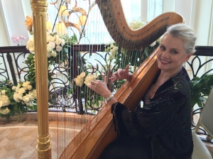 Playing for Elegant Music at the Beverly Hills Hotel wedding reception of Mimi & Jen
